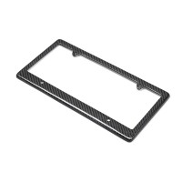 CARBON FIBER LICENSE PLATE FRAME - 4-Hole