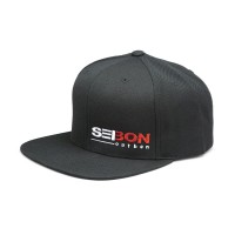 SEIBON BLACK SNAPBACK HAT
