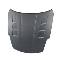 TS-style DRY CARBON hood for 2002-2006 Nissan 350Z..*ALL DRY CARBON PRODUCTS ARE MATTE FINISH!