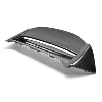 MG-style carbon fiber rear spoiler for 2002-2005 Honda Civic Si (JDM)