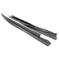 OEM-STYLE CARBON FIBER SIDE SKIRTS FOR 2014-2019 LEXUS IS