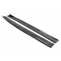 TP-STYLE CARBON FIBER SIDE SKIRTS FOR 2014-2019 LEXUS IS