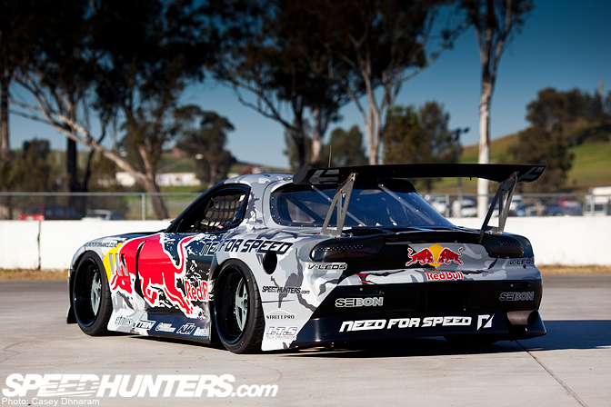 Speedhunters takes an in-depth look at Mad Mike's MADBUL RX7