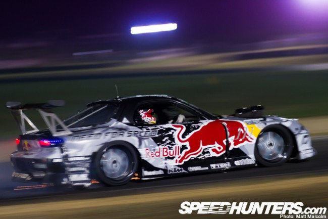 Mad Mike shakes down the MADBUL Mazda RX7 in Sydney