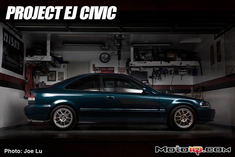 MotoIQ's Project Civic Sheds Weight with Seibon
