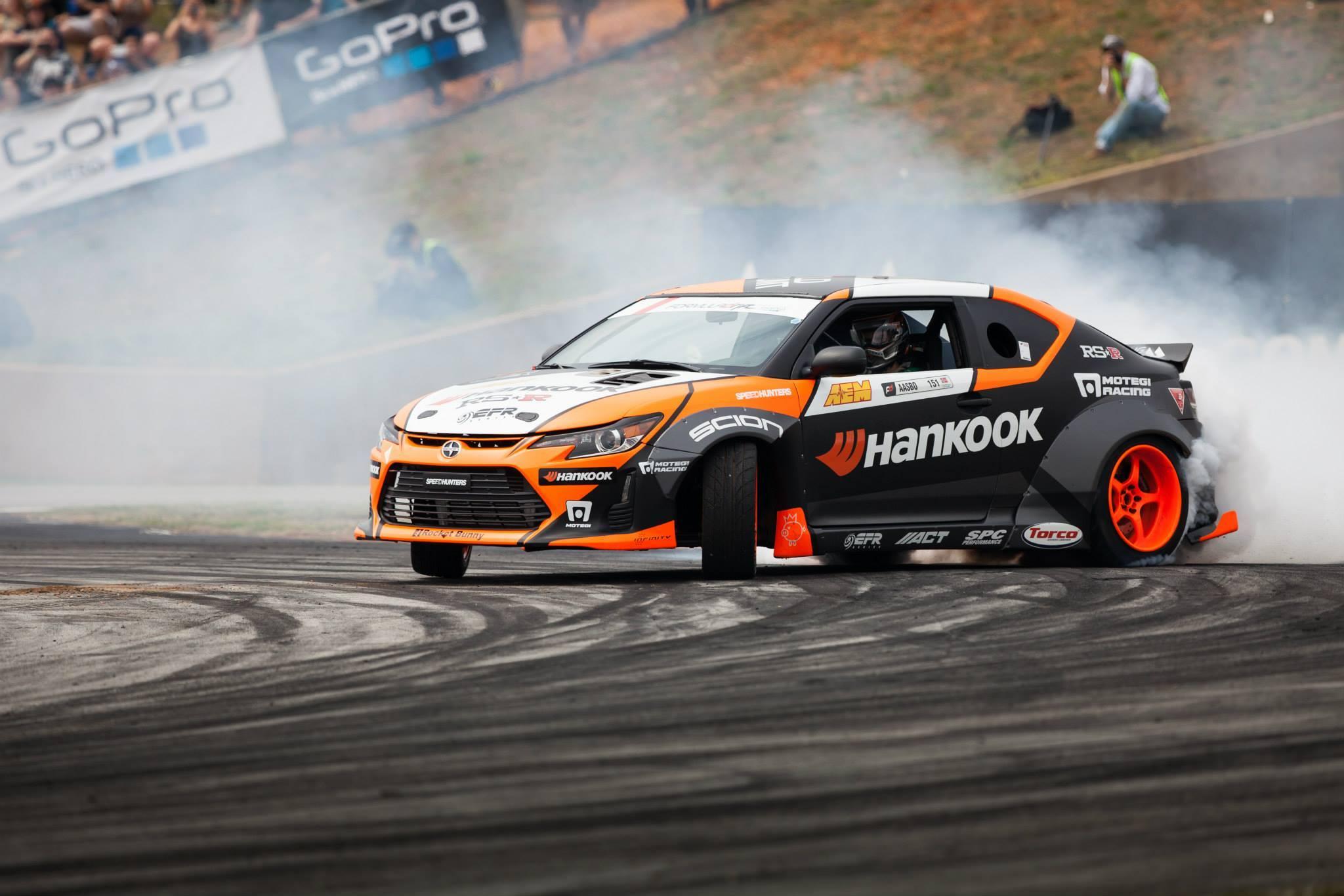 Formula Drift: Seibon Carbon Drivers Aasbo and Forsberg Dominate RD2