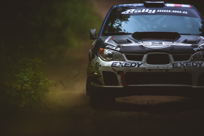 FY Racing Battles to 2nd Place at Ojibwe Forests Rally