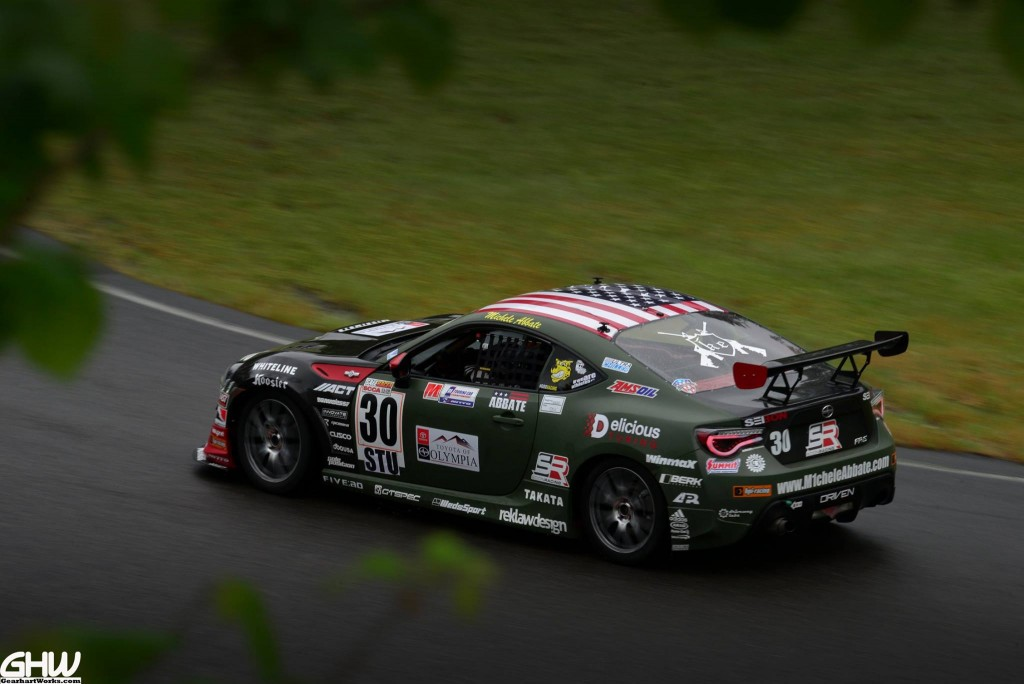 Michele Abbate Maintains Lead in SCCA US Majors Tour