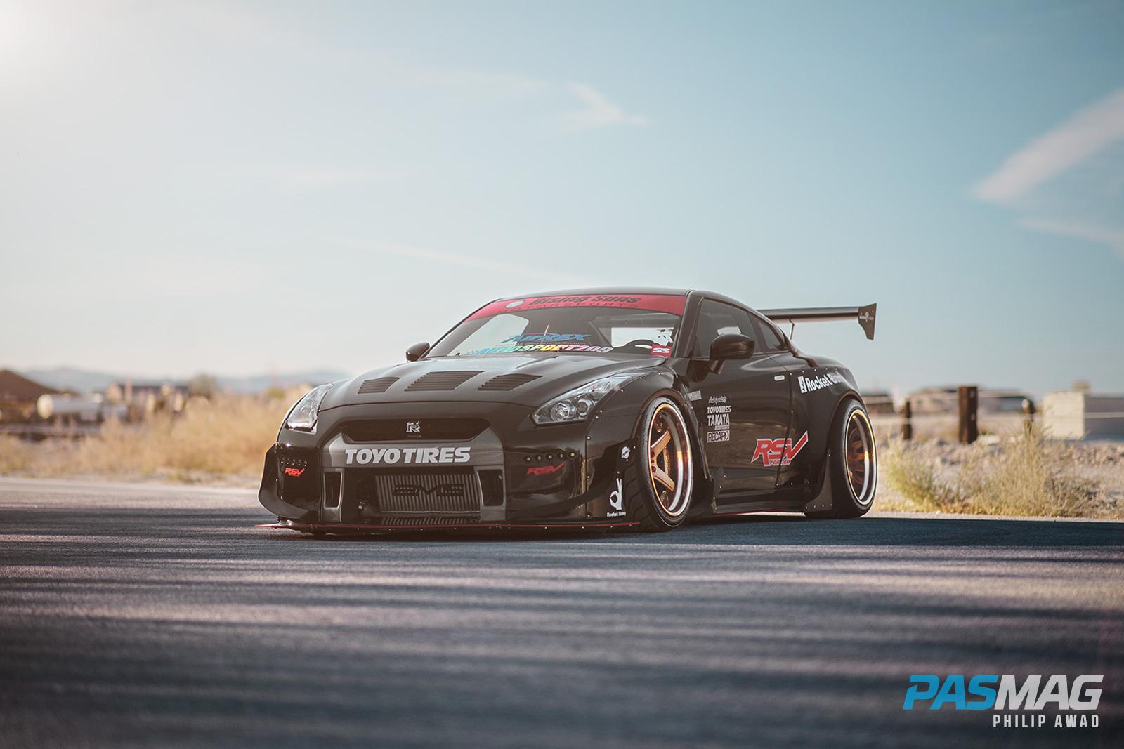 PASMAG Feature: Rothsen's Seibon Carbon x Rocket Bunny 2010 Nissan GTR