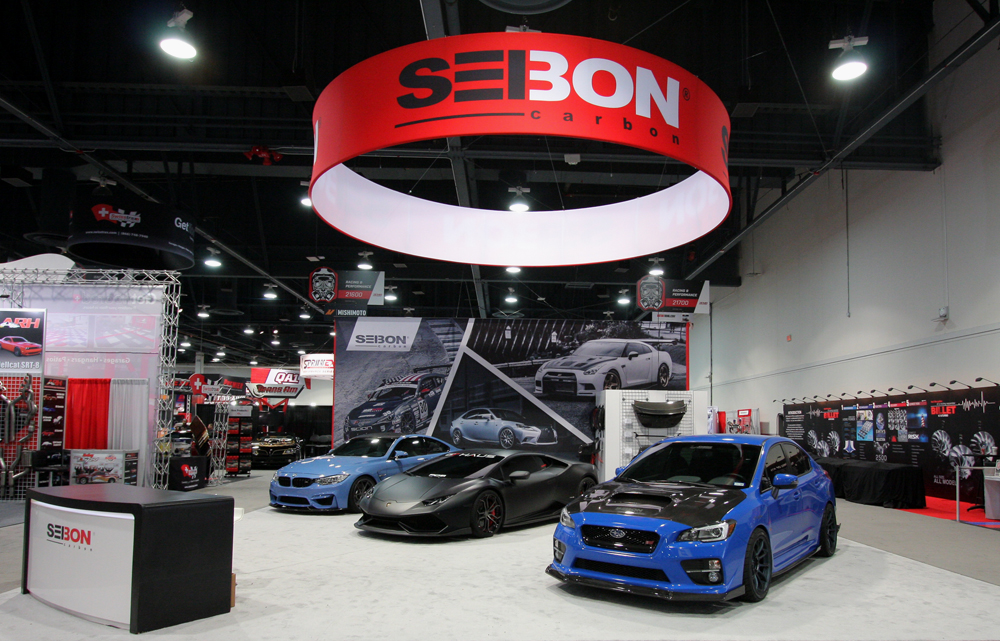 SEMA 2015: A Look at Seibon Carbon's Booth