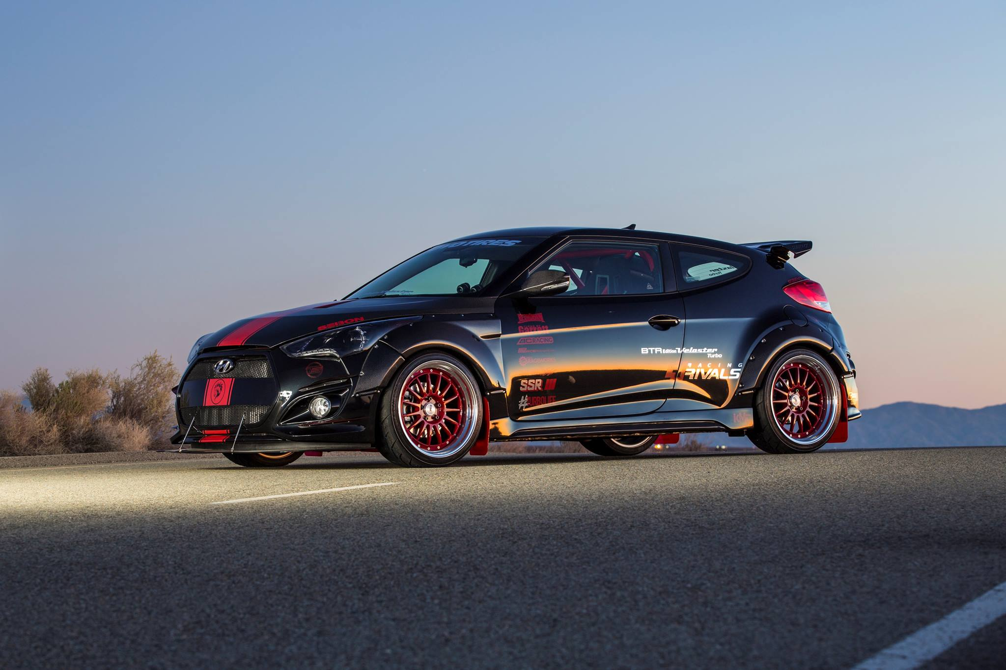 Blood Type Racing x Seibon Carbon Hyundai Veloster Turbo