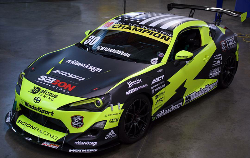 Michele Abbate Revamps Seibon Carbon Equipped Scion FRS for 2016 Season