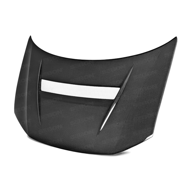 New Product: Seibon Carbon VSII-Style Carbon Fiber Hood for 2013 - 2015 Honda Civic 4DR